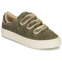 Schuhe Damen Sneaker Low No Name ARCADE STRAPS Kaki