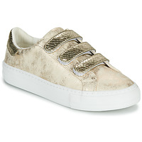 Schuhe Damen Sneaker Low No Name ARCADE STRAPS Gold