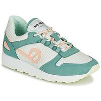 Schuhe Damen Sneaker Low No Name CITY OPEN Grün / Rose