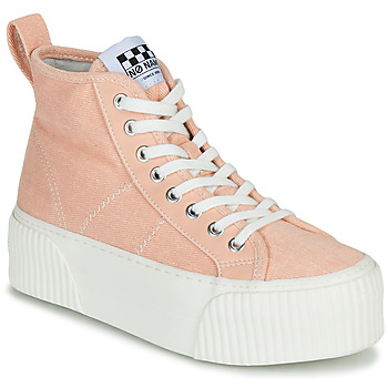 Schuhe Damen Sneaker High No Name IRON MID Rose