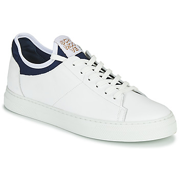 Schuhe Herren Sneaker Low Schmoove SPARK NEO Weiss / Blau