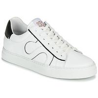 Schuhe Herren Sneaker Low Schmoove SPARK MOVE Weiss / Schwarz