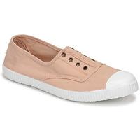 Schuhe Damen Sneaker Low Victoria INGLESA ELASTICO Beige