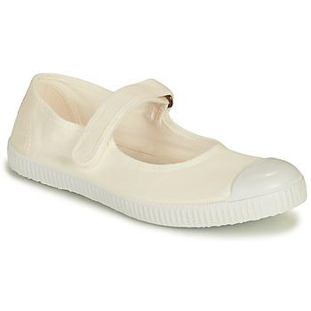 Schuhe Damen Sneaker Low Victoria PUNTERA MERCEDES Weiss