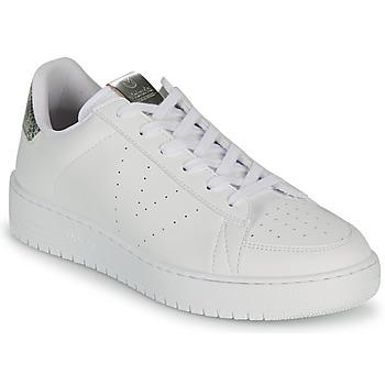 Schuhe Damen Sneaker Low Victoria SIEMPRE VEGANA META Weiss