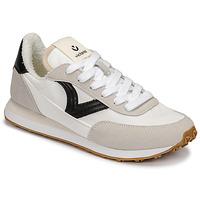Schuhe Damen Sneaker Low Victoria ASTRO NYLON Weiss / Schwarz