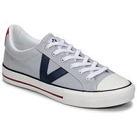 Schuhe Herren Sneaker Low Victoria TRIBU LONA CONTRASTE Grau