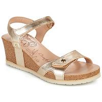 Schuhe Damen Sandalen / Sandaletten Panama Jack JULIA SHINE Gold