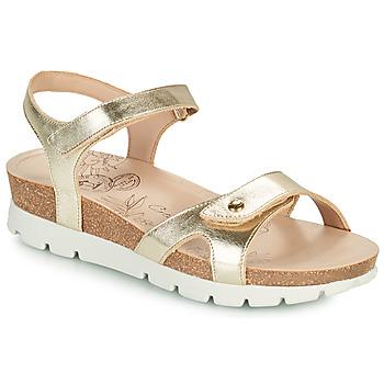 Schuhe Damen Sandalen / Sandaletten Panama Jack SULIA SHINE Gold