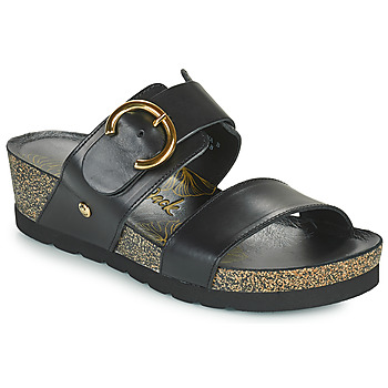 Schuhe Damen Pantoffel Panama Jack CATRINA Schwarz