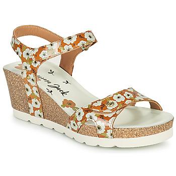 Schuhe Damen Sandalen / Sandaletten Panama Jack JULIA GARDEN Gelb