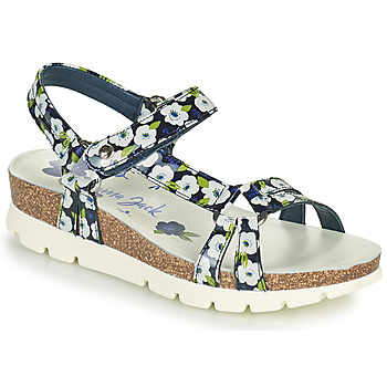 Schuhe Damen Sandalen / Sandaletten Panama Jack SALLY GARDEN Blau