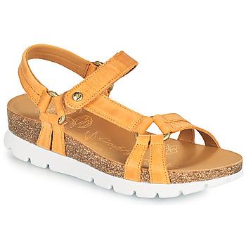 Schuhe Damen Sandalen / Sandaletten Panama Jack SALLY BASICS Gelb
