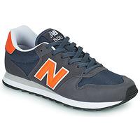 Schuhe Herren Sneaker Low New Balance 500 Blau / Orange