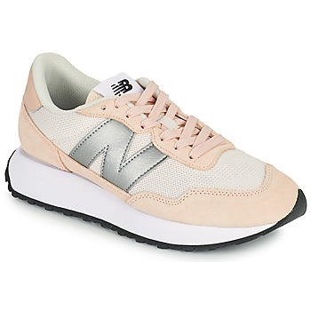 Schuhe Damen Sneaker Low New Balance 237 Rose / Silbern