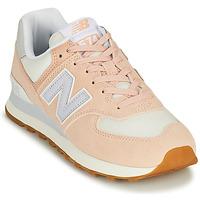 Schuhe Damen Sneaker Low New Balance 574 Rose / Blau