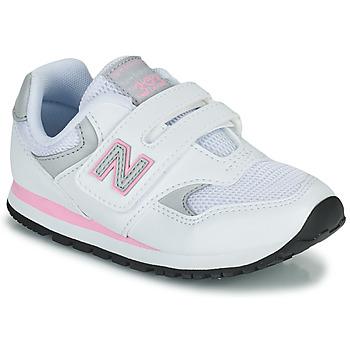 Schuhe Mädchen Sneaker Low New Balance 393 Weiss / Rose