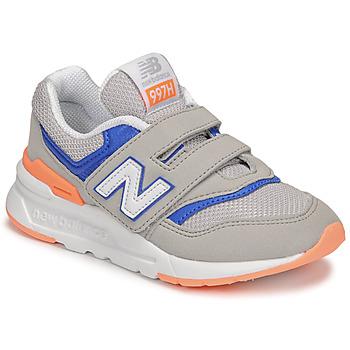 Schuhe Jungen Sneaker Low New Balance 997 Grau / Blau