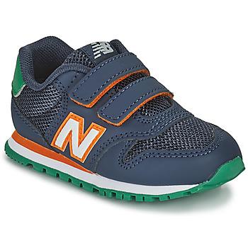 Schuhe Jungen Sneaker Low New Balance 500 Blau / Orange