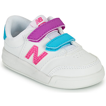 Schuhe Mädchen Sneaker Low New Balance COURT Weiss / Rose