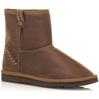 Schuhe Damen Low Boots MTNG 50081 Braun