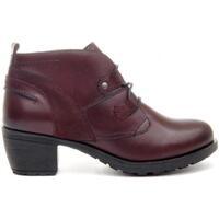 Schuhe Damen Low Boots Purapiel 67430 BROWN