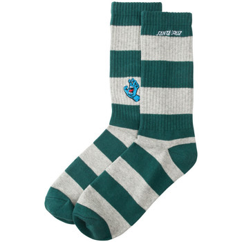 Accessoires Herren Socken & Strümpfe Santa Cruz Screaming mini hand stripe sck Grün
