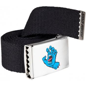 Accessoires Herren Gürtel Santa Cruz Screaming mini hand belt Schwarz