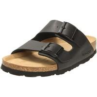 Schuhe Damen Pantoletten / Clogs Rohde Pantoletten softino 5631/90 schwarz