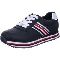 Schuhe Damen Sneaker Low Tom Tailor 8072301 NAVY blau