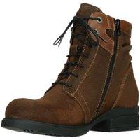 Schuhe Damen Stiefel Wolky Stiefeletten Center Liverpool Tabacco 0262545-410 braun