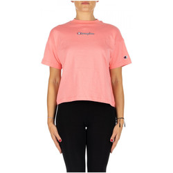 Kleidung Damen T-Shirts & Poloshirts Champion CREWNECK T-SHIRT ps125-sbp