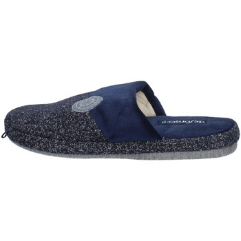 Schuhe Herren Pantoffel De Fonseca ROMA TOP I M631 BLAU