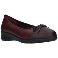 Schuhe Damen Ballerinas Balleri 2061-4 Mujer Burdeos rouge