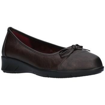 Schuhe Damen Ballerinas Balleri 2061-4 Mujer Marron marron