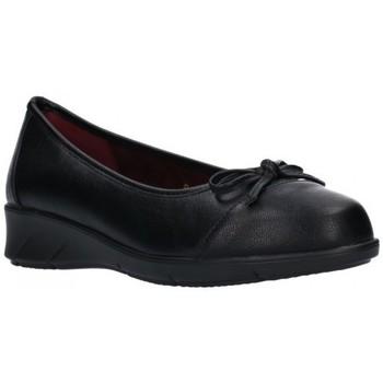 Schuhe Damen Ballerinas Balleri 2061-4 Mujer Negro noir