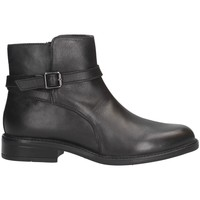 Schuhe Damen Ankle Boots Woz 20151ETHAN Stiefeletten Frau SCHWARZ SCHWARZ