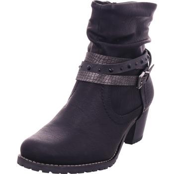 Schuhe Damen Stiefel Idana Stiefelette BLACK 008