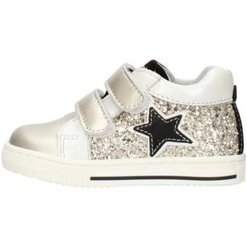 Schuhe Mädchen Sneaker Low Balocchi 606224 Platin