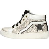 Schuhe Mädchen Sneaker High Balocchi 606526 Platin