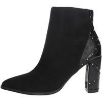 Schuhe Damen Low Boots Menbur 21956 Schwarz