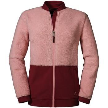 Kleidung Damen Pullover SchÖffel Sport Fleece Jacket Stavanger L 2012816 23456 3075 rosa