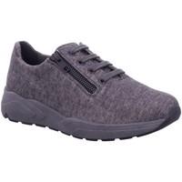 Schuhe Damen Sneaker Low Solidus Schnuerschuhe anthrazit 7-66009 20705 grau