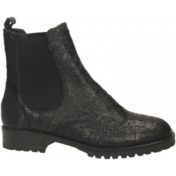 Schuhe Damen Boots Tosca Blu GERUSALEMME p49-nero