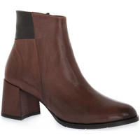 Schuhe Damen Low Boots Priv Lab 224 VITELLO MARRONE Marrone