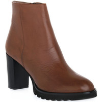 Schuhe Damen Low Boots Priv Lab 906 CUOIO Marrone
