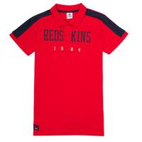 Kleidung Jungen Polohemden Redskins PO180117-RED Rot
