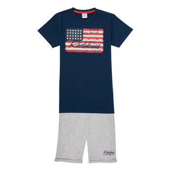 Kleidung Jungen Jogginganzüge Redskins SET301-NAVY-BLENDED-GREY Multicolor