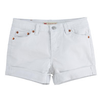 Kleidung Mädchen Shorts / Bermudas Levi's 4E4536-001 Weiss
