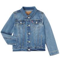 Kleidung Mädchen Jeansjacken Levi's 4E4388-M0K Blau